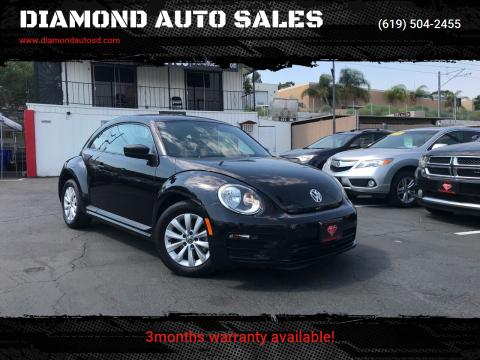 2017 Volkswagen Beetle for sale at DIAMOND AUTO SALES in El Cajon CA