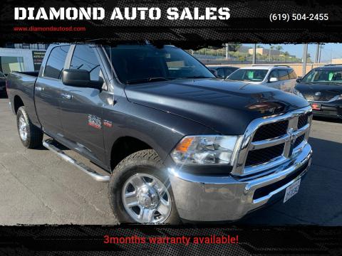 2016 RAM Ram Pickup 2500 for sale at DIAMOND AUTO SALES in El Cajon CA