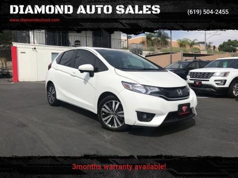 2017 Honda Fit for sale at DIAMOND AUTO SALES in El Cajon CA