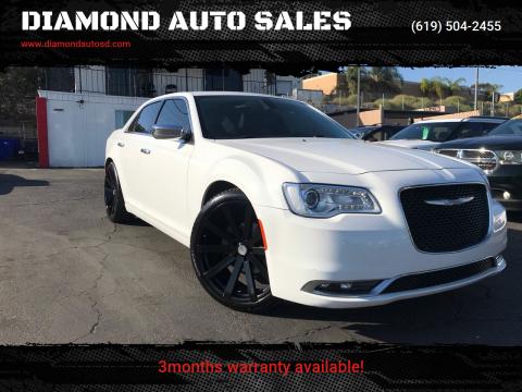 2015 Chrysler 300 for sale at DIAMOND AUTO SALES in El Cajon CA