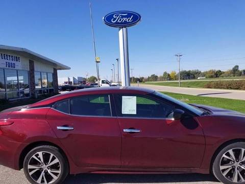 2016 Nissan Maxima for sale in Osceola IA