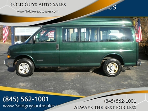 2005 Chevrolet Express Passenger for sale in Newburgh, NY
