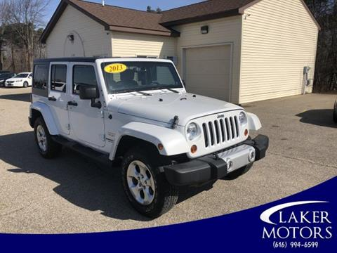 2013 Jeep Wrangler Unlimited for sale in Holland, MI