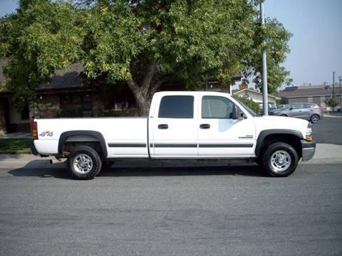 2001 Chevrolet Silverado 2500HD for sale at GARY'S AUTO PLAZA in Helena MT