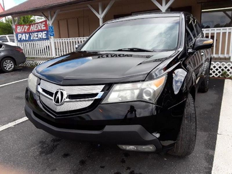 Acura MDX SHAWD WSport WRES In Knoxville TN Kings Motors Co - Acura mdx 2007 price