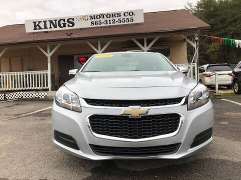 2016 Chevrolet Malibu Limited LT for sale at Kings Motors Co in Knoxville TN