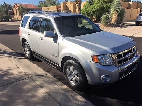 Ford Escape Hybrid For Sale >> Ford Escape Hybrid For Sale In Scottsdale Az Arizona Hybrid Cars