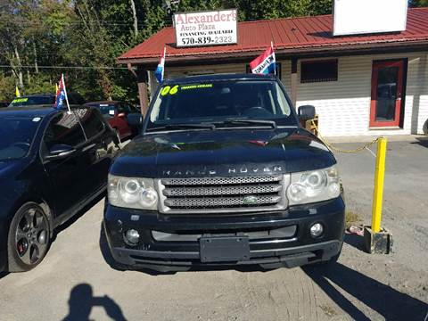 2006 Land Rover Range Rover Sport for sale in Swiftwater, PA