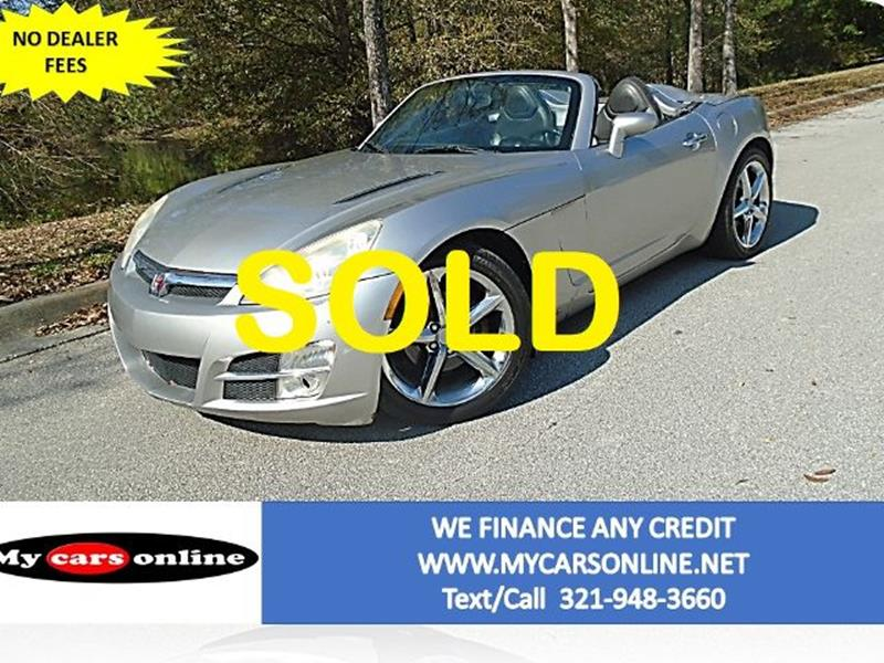 2007 Saturn SKY for sale at Mycarsonline LLC in Oviedo FL