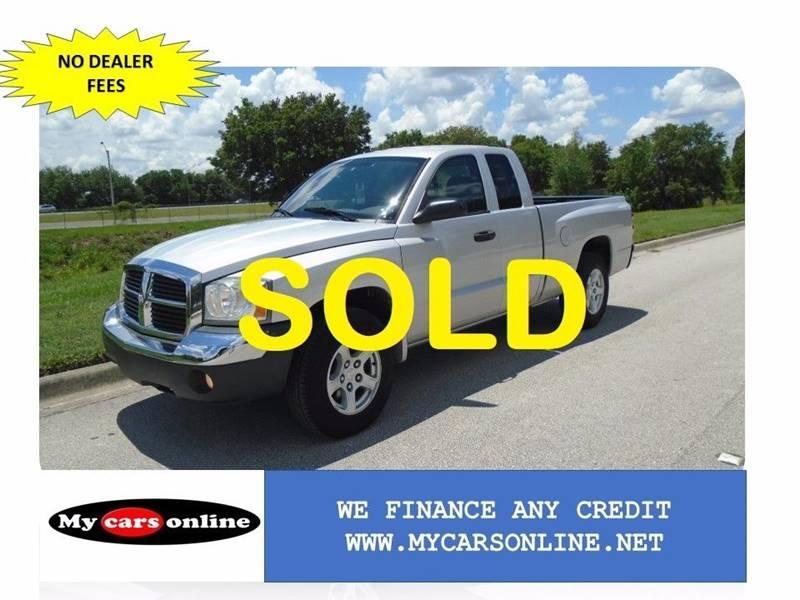 2005 Dodge Dakota for sale at Mycarsonline LLC in Oviedo FL
