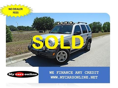 2006 Jeep Liberty for sale at Mycarsonline LLC in Oviedo FL
