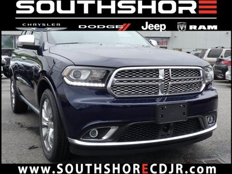 2017 Dodge Durango for sale in Inwood, NY