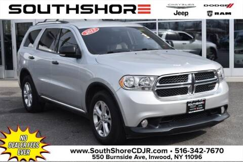 2013 Dodge Durango Crew for sale at South Shore Chrysler Dodge Jeep Ram in Inwood NY