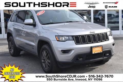 2017 Jeep Grand Cherokee Laredo for sale at South Shore Chrysler Dodge Jeep Ram in Inwood NY