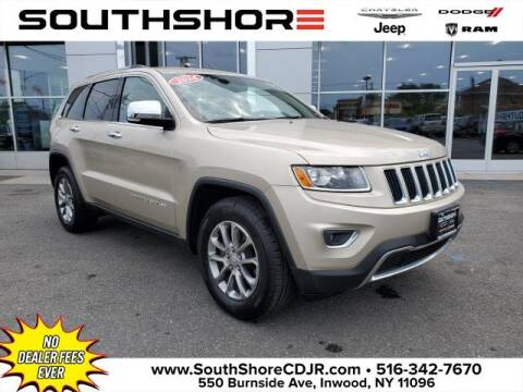 2014 Jeep Grand Cherokee for sale at South Shore Chrysler Dodge Jeep Ram in Inwood NY