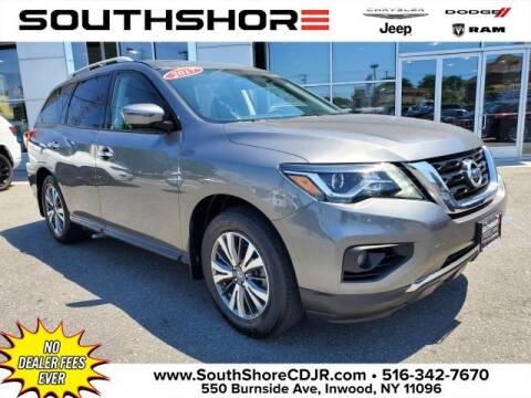 2017 Nissan Pathfinder for sale at South Shore Chrysler Dodge Jeep Ram in Inwood NY