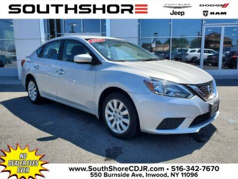 2017 Nissan Sentra for sale at South Shore Chrysler Dodge Jeep Ram in Inwood NY