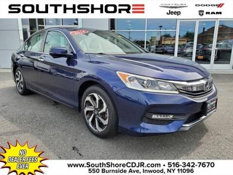 2016 Honda Accord for sale at South Shore Chrysler Dodge Jeep Ram in Inwood NY