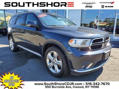 2014 Dodge Durango for sale at South Shore Chrysler Dodge Jeep Ram in Inwood NY