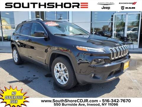 2017 Jeep Cherokee for sale at South Shore Chrysler Dodge Jeep Ram in Inwood NY