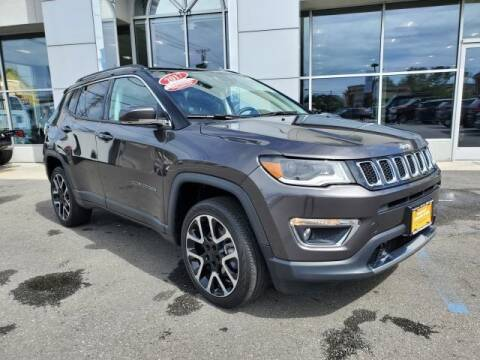 2017 Jeep Compass for sale at South Shore Chrysler Dodge Jeep Ram in Inwood NY