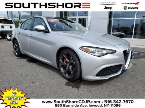 2018 Alfa Romeo Giulia for sale at South Shore Chrysler Dodge Jeep Ram in Inwood NY