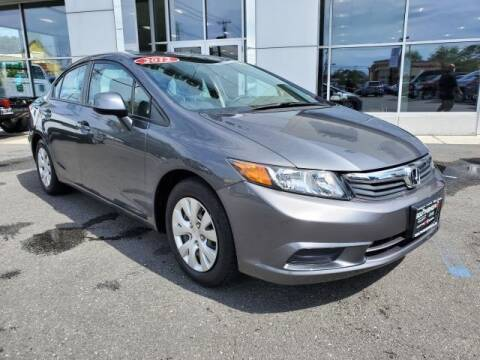 2012 Honda Civic for sale at South Shore Chrysler Dodge Jeep Ram in Inwood NY