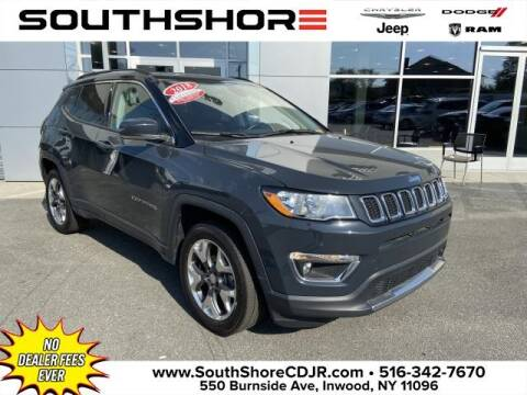 2018 Jeep Compass for sale at South Shore Chrysler Dodge Jeep Ram in Inwood NY