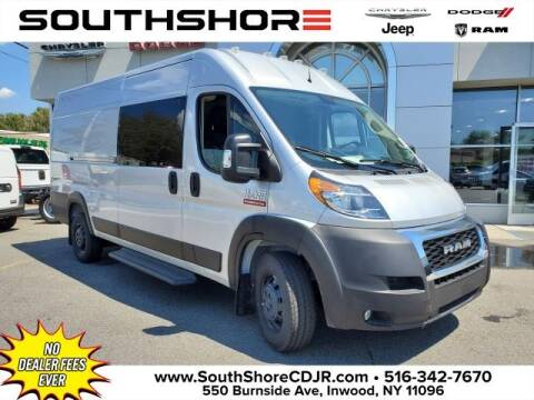 2020 RAM ProMaster Cargo for sale at South Shore Chrysler Dodge Jeep Ram in Inwood NY