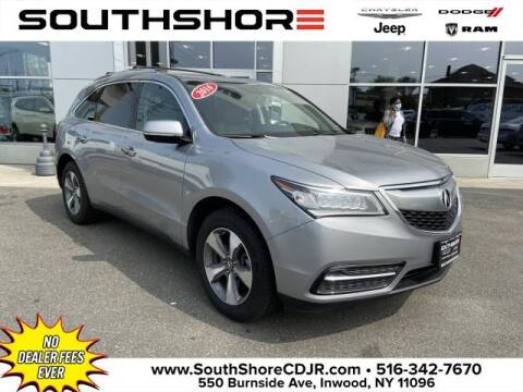 2016 Acura MDX for sale at South Shore Chrysler Dodge Jeep Ram in Inwood NY