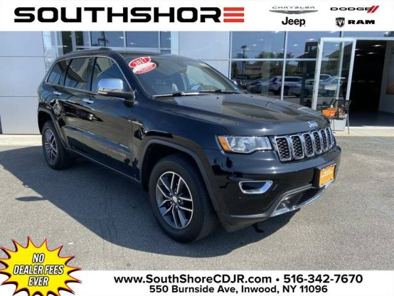 2017 Jeep Grand Cherokee for sale at South Shore Chrysler Dodge Jeep Ram in Inwood NY