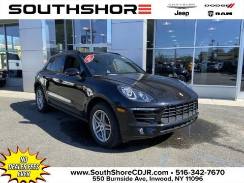 2017 Porsche Macan for sale at South Shore Chrysler Dodge Jeep Ram in Inwood NY