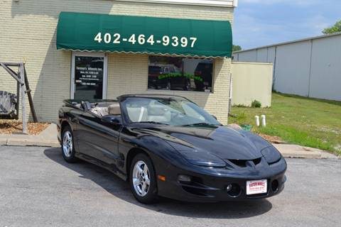 2001 Pontiac Firebird for sale in Lincoln, NE