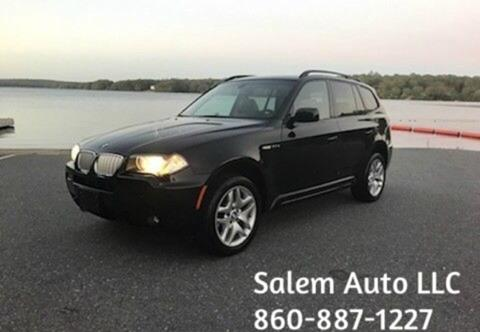 2007 BMW X3 for sale in Salem, CT