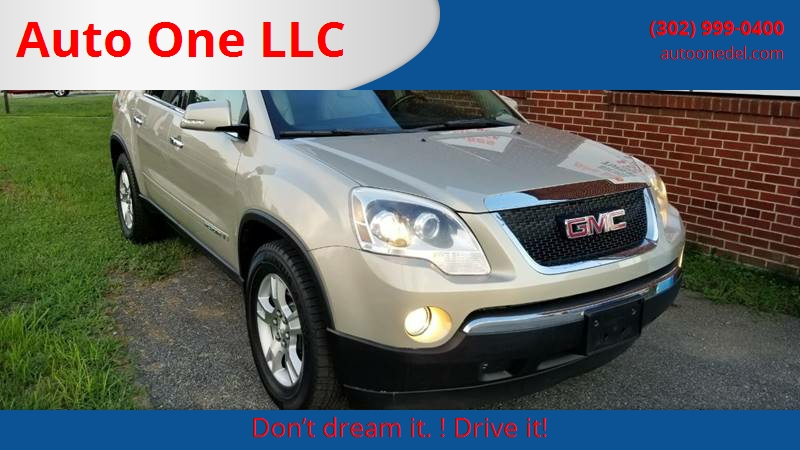 GMC Acadia SLT In Wilmington DE Auto One LLC - Auto de