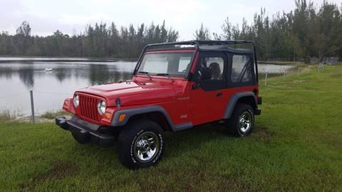 1998 Jeep Wrangler for sale in Pompano Beach FL