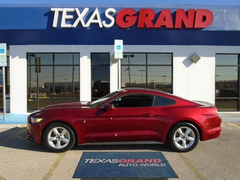 2015 Ford Mustang for sale in El Paso TX