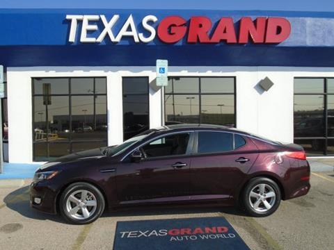 2014 Kia Optima for sale in El Paso TX