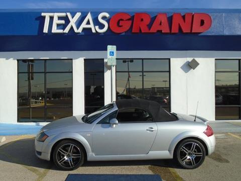 2002 Audi TT for sale in El Paso, TX