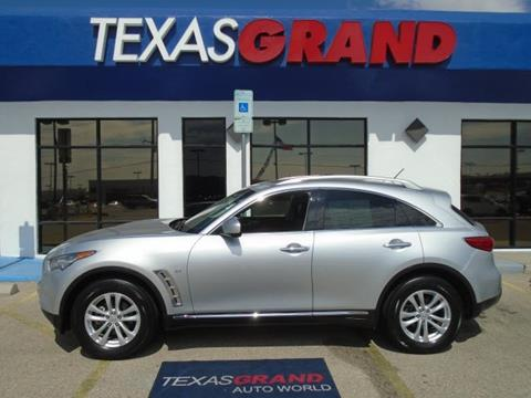 2015 Infiniti QX70 for sale in El Paso TX