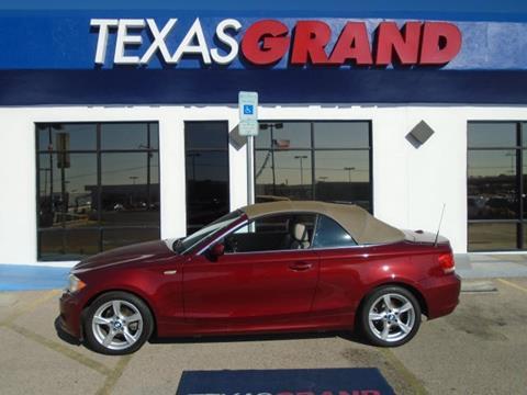 2012 BMW 1 Series for sale in El Paso TX