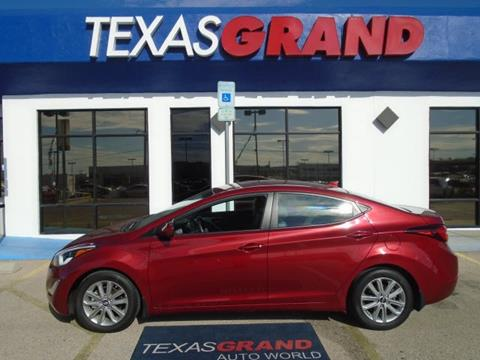 2016 Hyundai Elantra for sale in El Paso TX