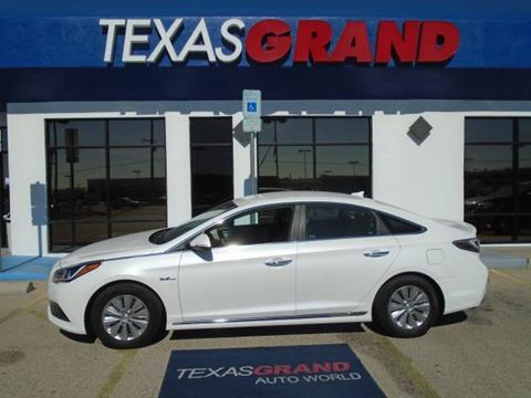 2016 Hyundai Sonata Hybrid for sale in El Paso, TX