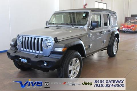 Jeep El Paso >> Jeep Wrangler For Sale in El Paso, TX - Carsforsale.com®