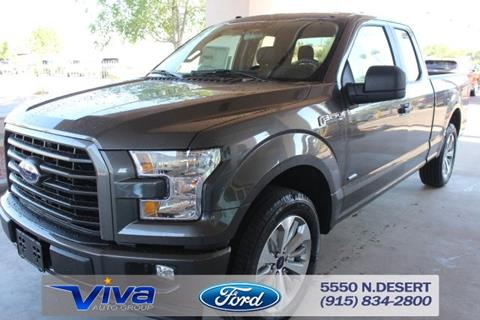 2017 Ford F-150 for sale in El Paso, TX