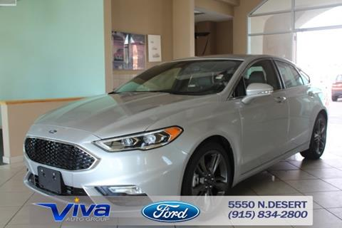 2017 Ford Fusion for sale in El Paso, TX