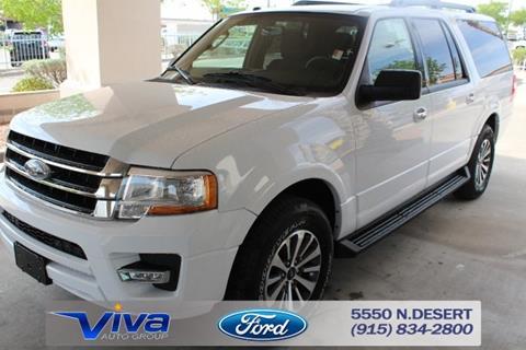 2017 Ford Expedition EL for sale in El Paso, TX
