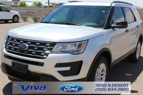 2017 Ford Explorer for sale in El Paso, TX