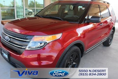 2013 Ford Explorer for sale in El Paso, TX