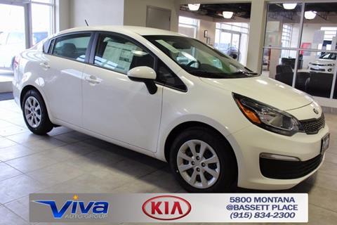 2017 Kia Rio for sale in El Paso, TX